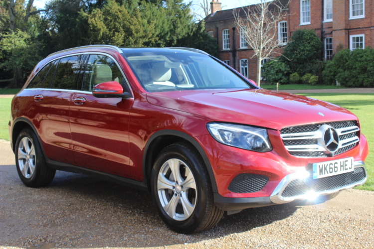 Mercedes-Benz GLC 250d Sport Premium +<br />2016 Hyacinth Red 4X4 £32,500