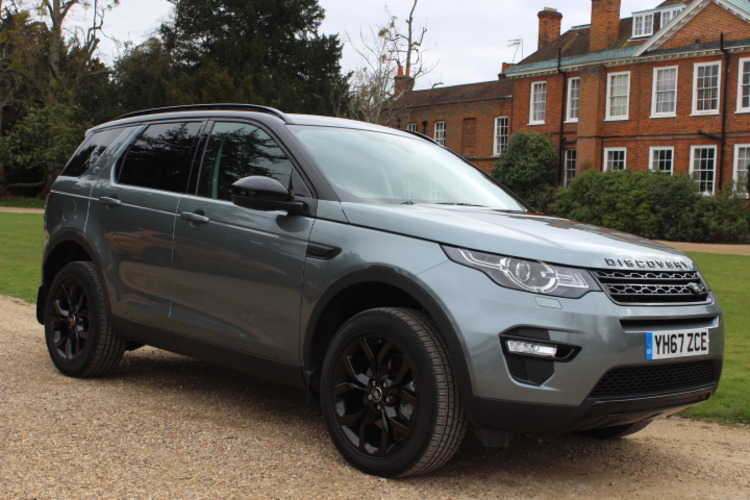 Land Rover Discovery Sport HSE 4x4<br />2017 Metallic Grey 4X4 £35,000