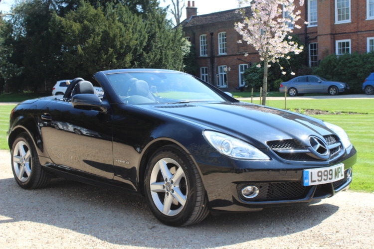 Mercedes-Benz SLK200 Kompressor <br />2010 Metallic Black Convertible £10,000
