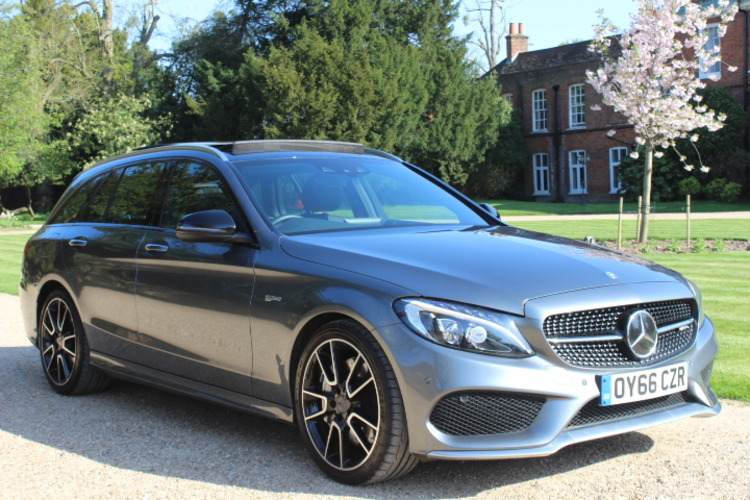 Mercedes-Benz C43 AMG (Premium Plus)<br />2016 Metallic Grey Estate NOW SOLD