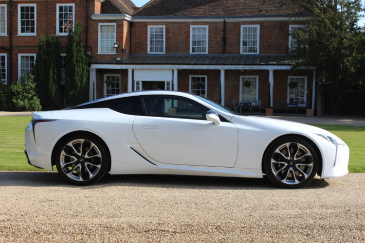 Lexus LC 500 Sport +<br />2017 Metallic White Coupe £72,000