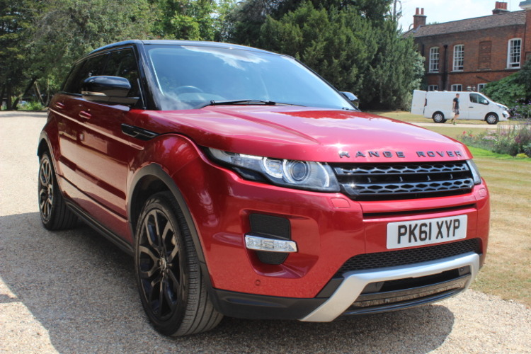 Land Rover Evoque Dynamic <br />2011 Firenze Red 4X4 £19,250