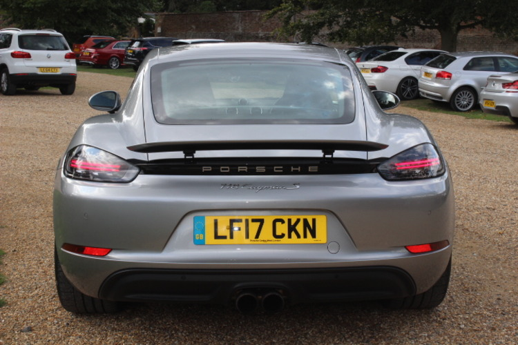 2017 Porsche 718 Cayman S PDK NOW SOLD