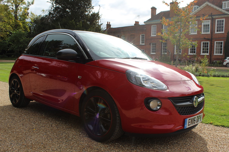 Vauxhall Adam GLAM<br />2016 Red Hatchback £7,195