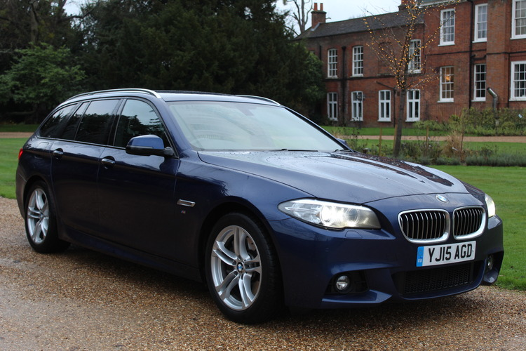 BMW 530d M Sport<br />2015 Metallic Blue Estate UNDER OFFER