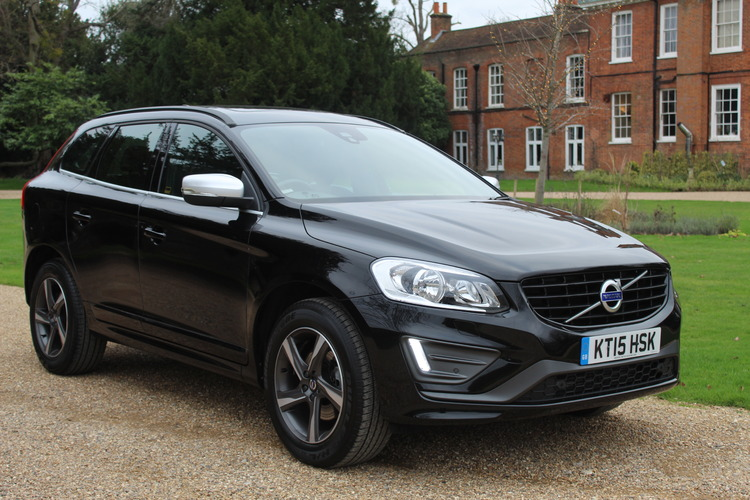 Volvo XC60 R-Design<br />2015 Metallic Black Hatchback NOW SOLD