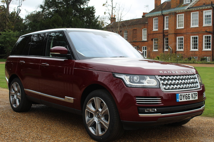 Land Rover RR Autobiography HEV<br />2016 Metallic Red 4X4 £63,995