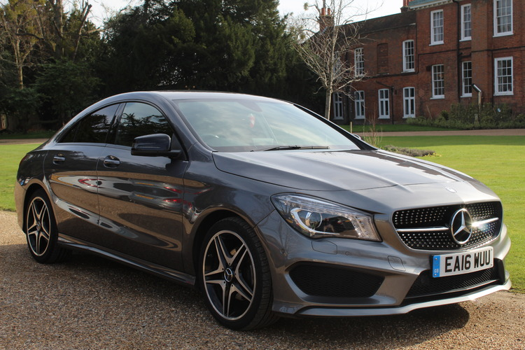 Mercedes-Benz CLA 180 AMG Sport (s/s)<br />2016 Metallic Grey Coupe £16,995