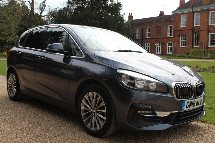 BMW 220d Luxury Active Tourer<br />2018 Metallic Grey MPV £20,000