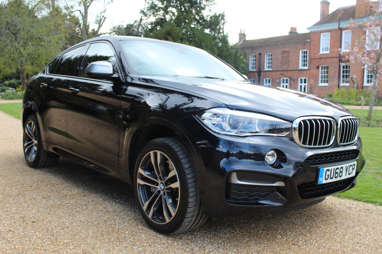 BMW X6 M50d xDrive<br />2018 Metallic Black 4X4 £44,999