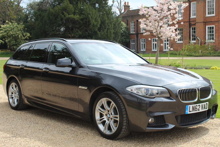 BMW 520d M Sport Touring<br />2012 Metallic Grey Estate £13,850