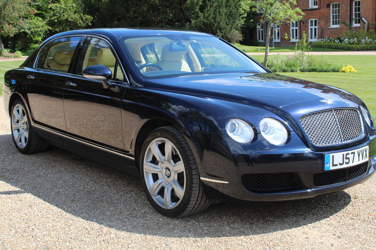Bentley Continental Flying Spur<br />2007 Blue Saloon £22,995