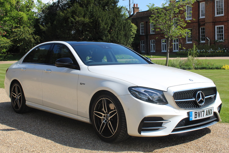 Mercedes-Benz E43 AMG Premium Plus<br />2017 Metallic White Saloon UNDER OFFER