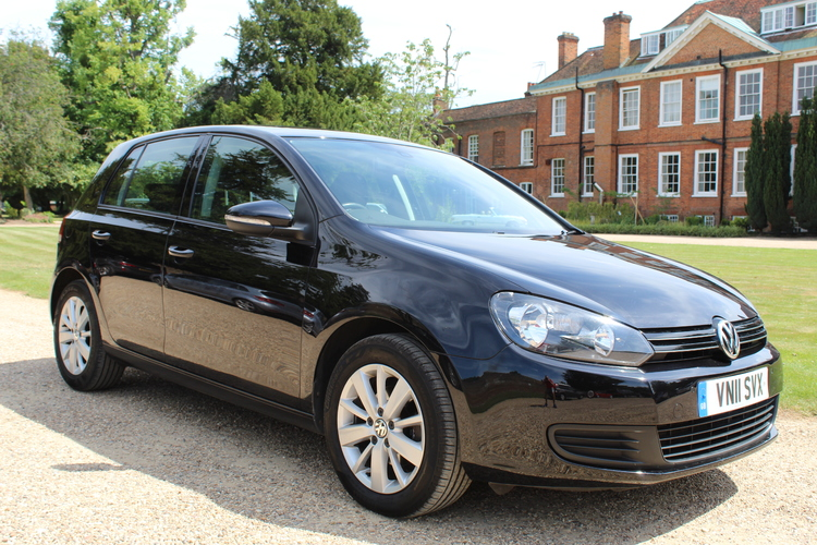 Volkswagen Golf Match DSG<br />2011 Deep Black Hatchback UNDER OFFER