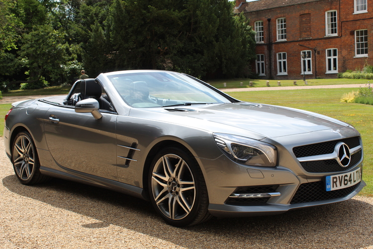 Mercedes-Benz SL500 AMG Sport<br />2014 Palladium Silver Convertible UNDER OFFER