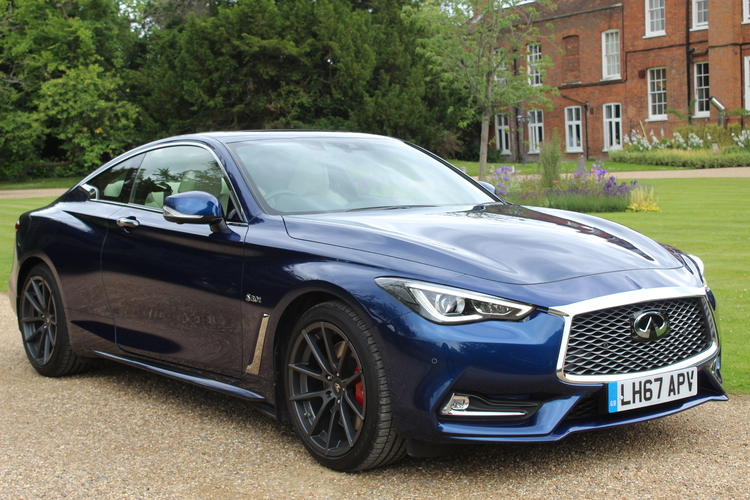Infiniti Q60 Sport Tech AWD<br />2018 Metallic Blue Coupe £30,000