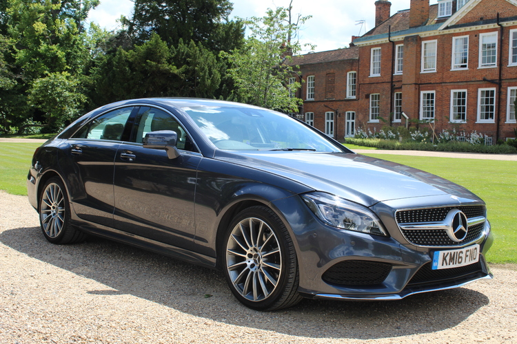 Mercedes-Benz CLS 220 AMG Line<br />2016 Metallic Grey Coupe £18,995