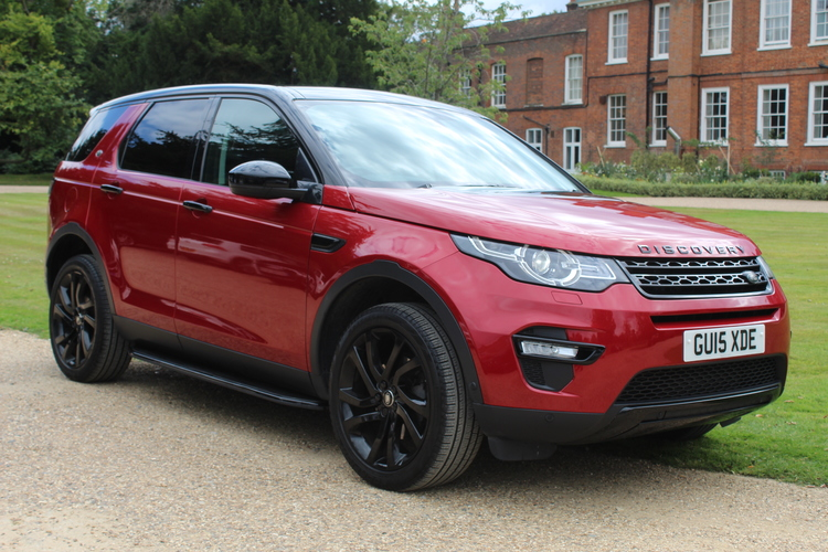 Land Rover Discovery Sport HSE LUX <br />2015 Firenze Red Metallic 4X4 £21,595