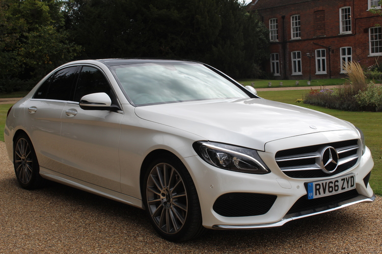 Mercedes-Benz C250d AMG Line Premium<br />2016 White Saloon NOW SOLD