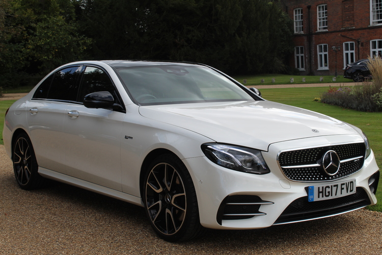 Mercedes-Benz E43 AMG Premium Plus<br />2017 Metallic White Saloon NOW SOLD