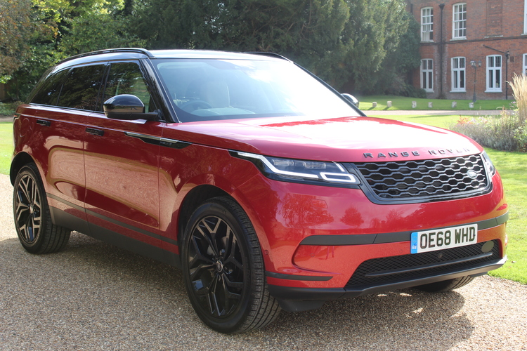 Land Rover RR Velar HSE <br />2018 Metallic Red 4X4 £44,995