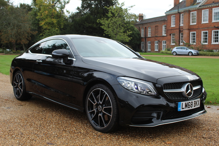 Mercedes-Benz C300 AMG Line Premium+<br />2018 Metallic Black Coupe NOW SOLD