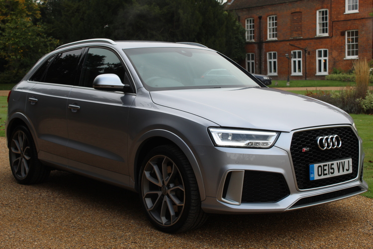 Audi RS Q3 Quattro<br />2015 Metallic Silver 4X4 NOW SOLD