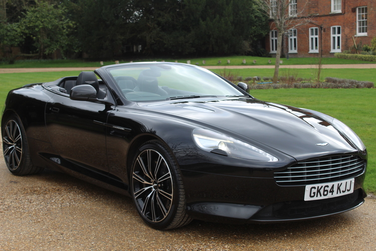 Aston Martin DB9 Carbon Edition <br />2014 AML Carbon Black Convertible £53,995