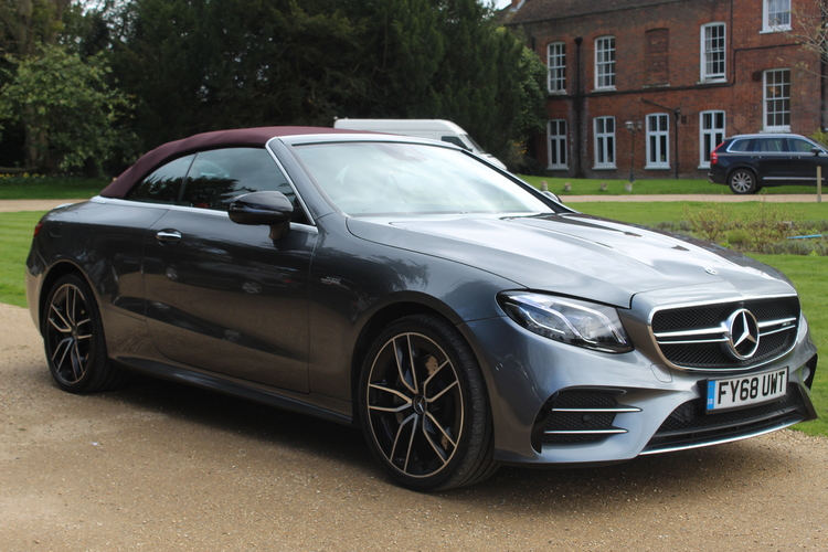 Mercedes-Benz E53 EQ Boost AMG Premium+<br />2018 Metallic Grey Convertible NOW SOLD