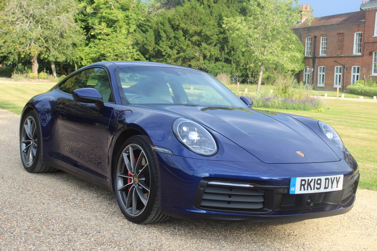 Porsche 911 Carrera S 2dr PDK 992<br />2019 Metallic Blue Coupe £89,995