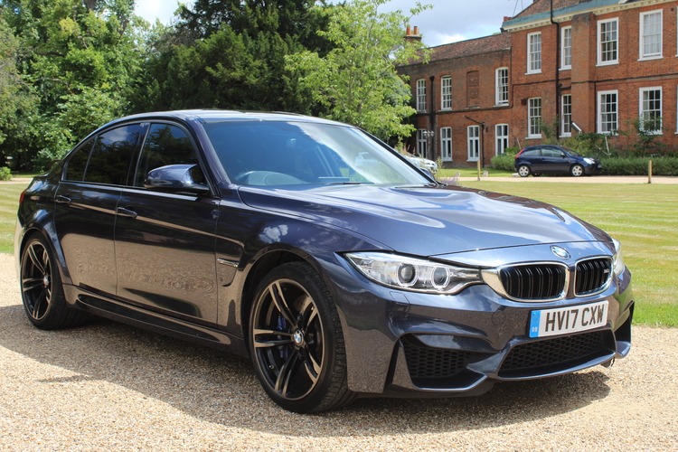 BMW M3 DCT 4dr Saloon<br />2017 Metallic Blue Saloon £34,750