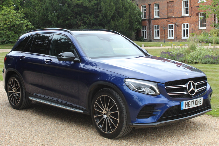 Mercedes-Benz GLC Class 3.0 GLC350d 4Ma<br />2017 Metallic Blue Estate NOW SOLD