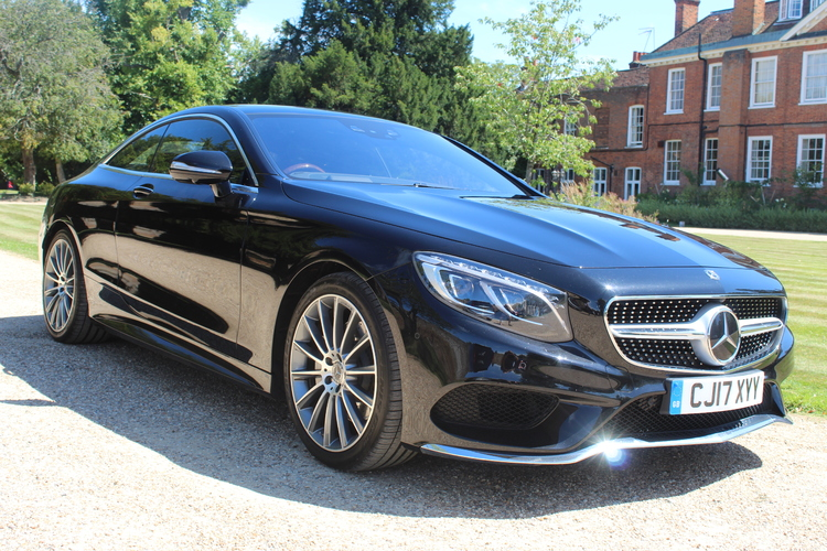 Mercedes-Benz S500 AMG Line Premium 2dr<br />2017 Metallic Black Coupe NOW SOLD