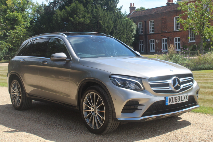 Mercedes-Benz GLC 220d 4Matic AMG Line <br />2018 Metallic Silver Estate NOW SOLD