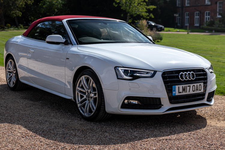 Audi A5 TFSI S LINE<br />2017 White Convertible NOW SOLD