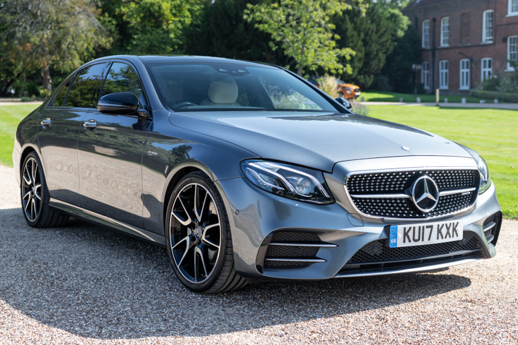 Mercedes-Benz E43 AMG Premium + 4MATIC<br />2017 Metallic Grey Saloon £33,499