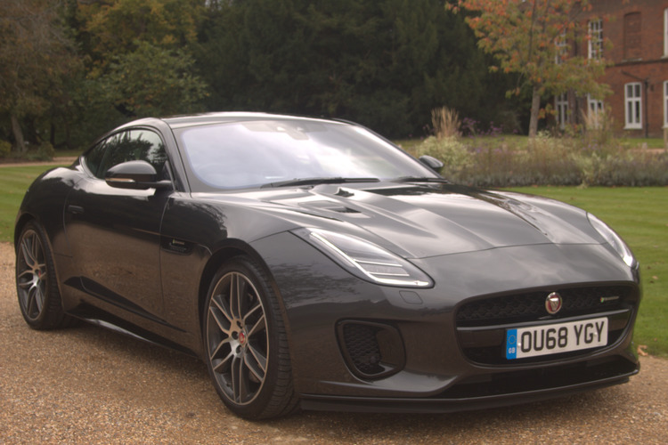 Jaguar F-Type R-Dynamic V6 (380)<br />2018 Metallic Grey Coupe NOW SOLD