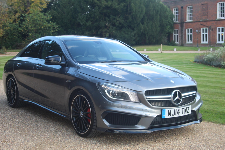 Mercedes-Benz CLA 45 4Matic 4dr Tip Aut<br />2014 Metallic Grey Coupe UNDER OFFER
