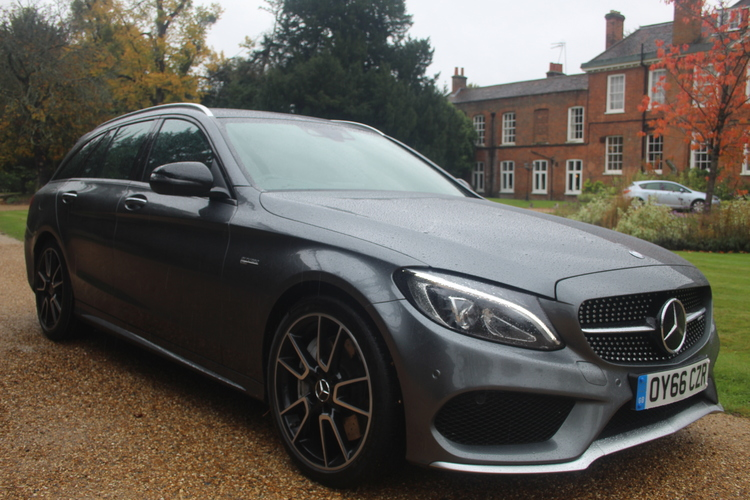 Mercedes-Benz C43 V6 AMG Premium Plus <br />2016 Metallic Grey Estate NOW SOLD