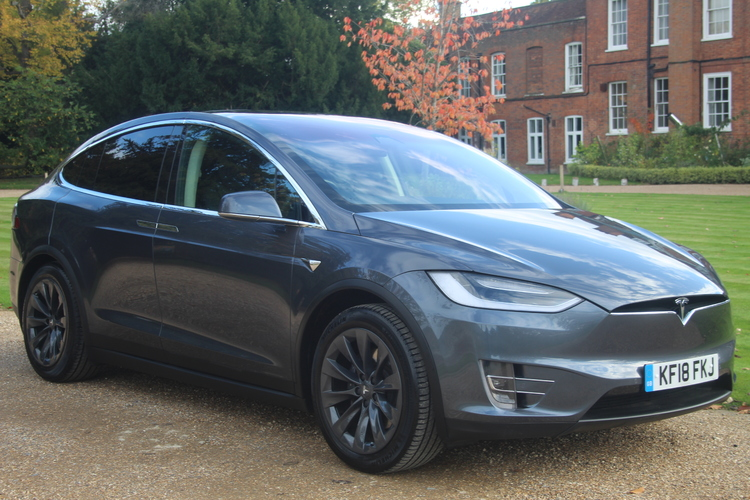 Tesla Model X 75D 4WD<br />2018 Metallic Silver Hatchback NOW SOLD