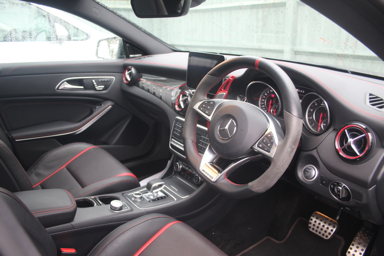 2019 Mercedes-Benz CLA45 AMG Night Edition + £34,875