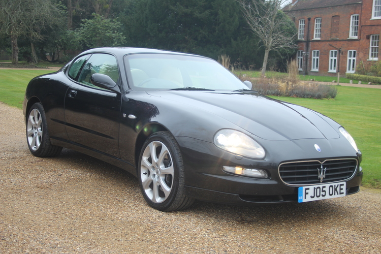 Maserati 4200 Coupe Cambiocorsa 2d<br />2005 Metallic Black Coupe £18,950