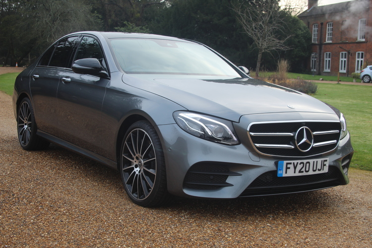 Mercedes-Benz E350d Night Ed Premium+<br />2020 Metallic Grey Saloon £35,750