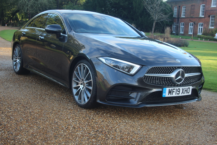 Mercedes-Benz CLS350 AMG Line Premium+<br />2019 Metallic Grey Coupe £39,995