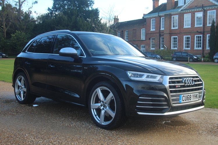 Audi SQ5 TFSI V6 Quattro<br />2018 Metallic Black 4X4 NOW SOLD
