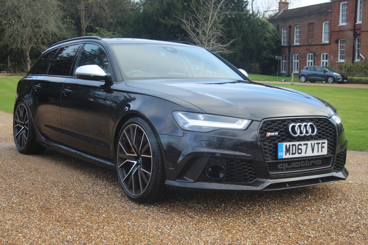Audi RS6 AVANT Performance <br />2017 Panther Black Estate NOW SOLD