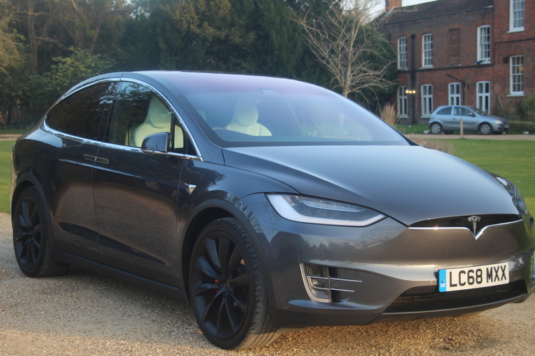 Tesla Model X P100DL<br />2019 Midnight Silver Meta Hatchback NOW SOLD