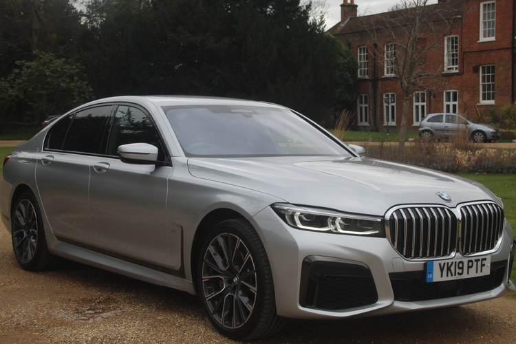 BMW 740d M Sport xDrive<br />2019 Metallic Silver Saloon NOW SOLD
