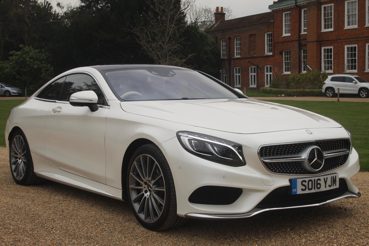 Mercedes-Benz S500 AMG Line Premium <br />2016 Metallic White Coupe £44,950