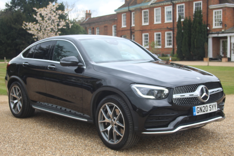 Mercedes-Benz GLC300d AMG Line Premium+<br />2020 Metallic Black Coupe NOW SOLD